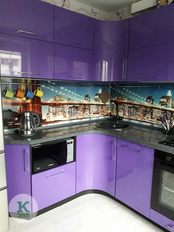Фиолетовая кухня Урбано артикул: 20358147