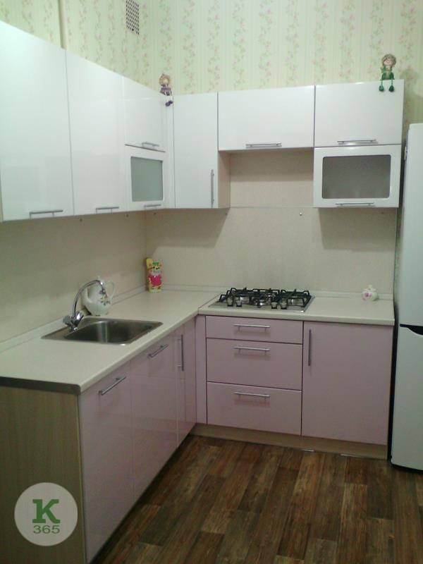 Розовая кухня Вега артикул: 000167445