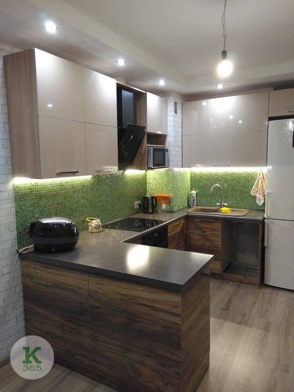 Коричневая кухня Нибиру артикул: 000170156
