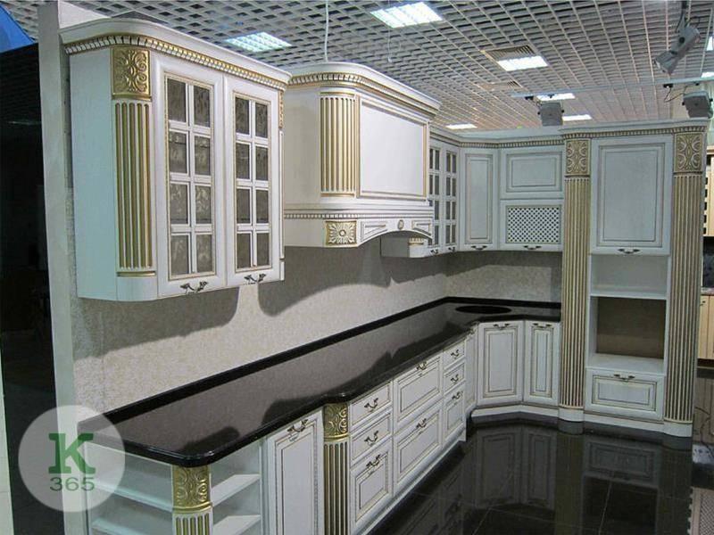 Кухня белая с золотом Киви артикул: 175825
