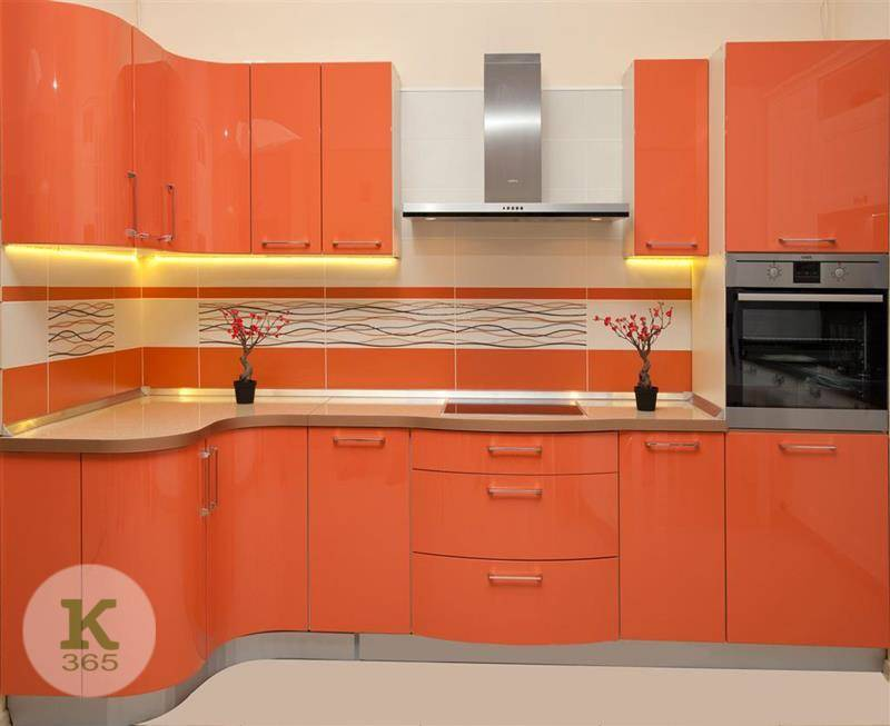Оранжевая кухня Лоза артикул: 197821