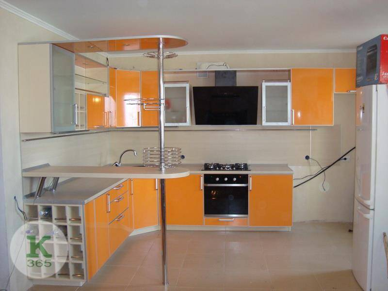 Оранжевая кухня Омега Плюс артикул: 200345