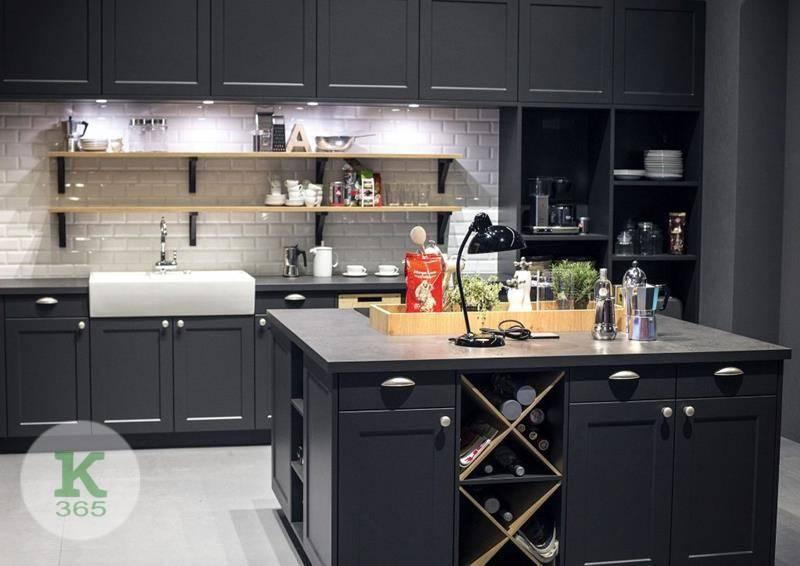 Черная кухня Гермес артикул: 210601