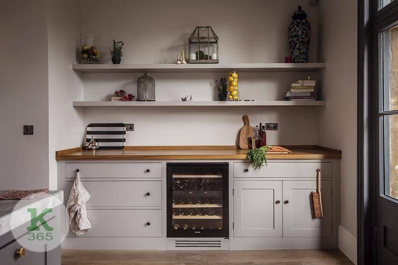 Кухня без верхних шкафов Фламинго артикул: 221113
