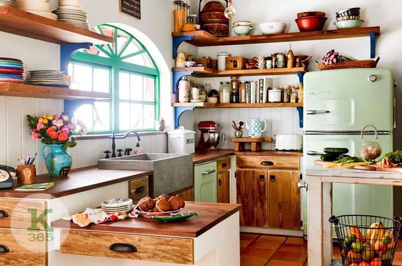 Кухня с открытыми полками Керчь Квадро артикул: 364658