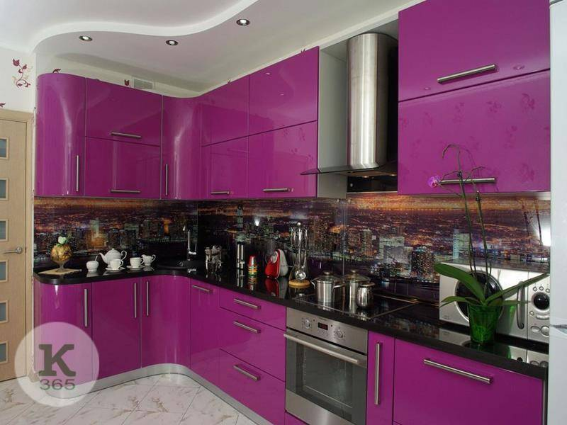 Кухня баклажан Модерн Квадро артикул: 371522