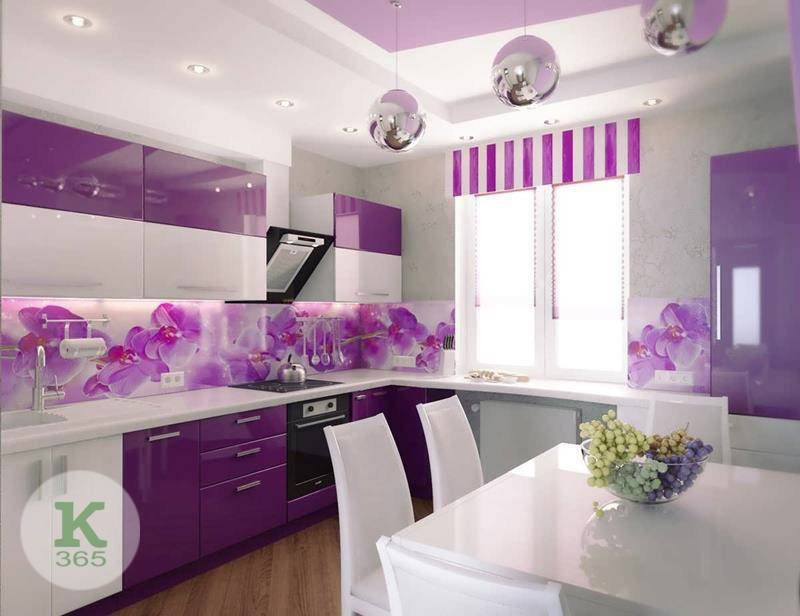 Лиловая кухня Авиньон Квадро артикул: 380192