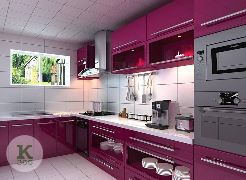 Лиловая кухня Федерика Квадро артикул: 383688
