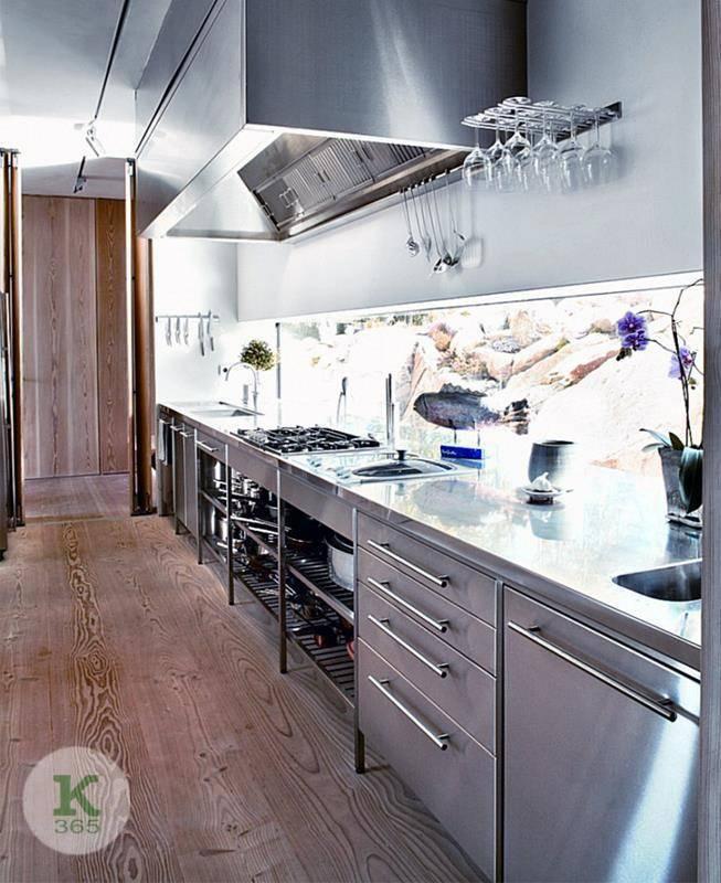 Металлическая кухня Бари Бьянко Квадро артикул: 399618
