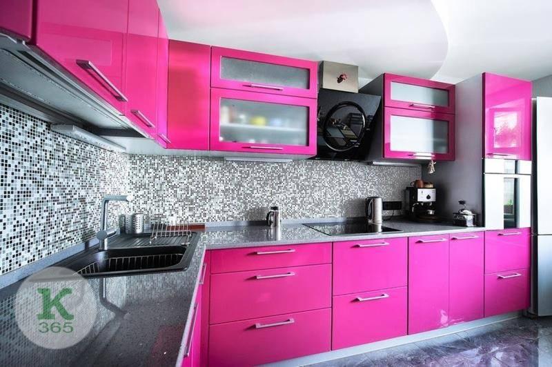 Розовая кухня Новая Линия Квадро артикул: 474338