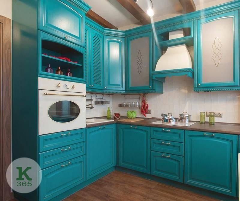 Бирюзовая кухня Самая красивая артикул: 48985