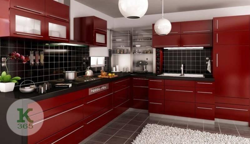Бордовая кухня Амиака Ваниль артикул: 52165