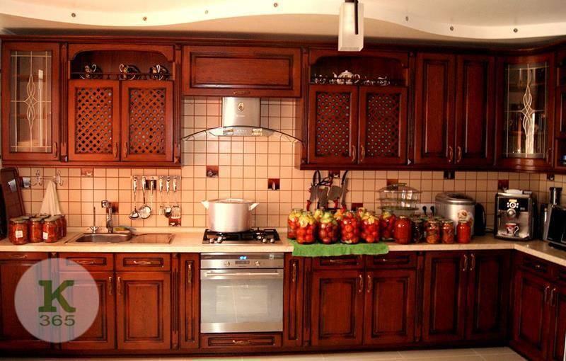 Кухня орех Ринна Гласс артикул: 70313